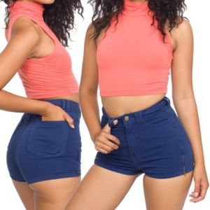 American Apparel |  High Waisted Shorts